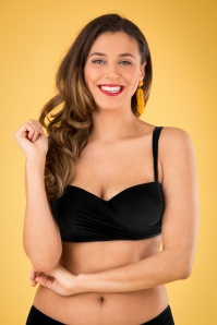 Marc & Andre Paris 30246 50s Aliyah Bikini Top Black 20190411 002