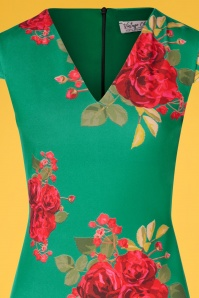 Vintage Chic 30413 Pecildress Green Floral Roses 010519 0005b