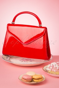 La Parisienne 30610 Bag Red Handbag 20190430 006 W