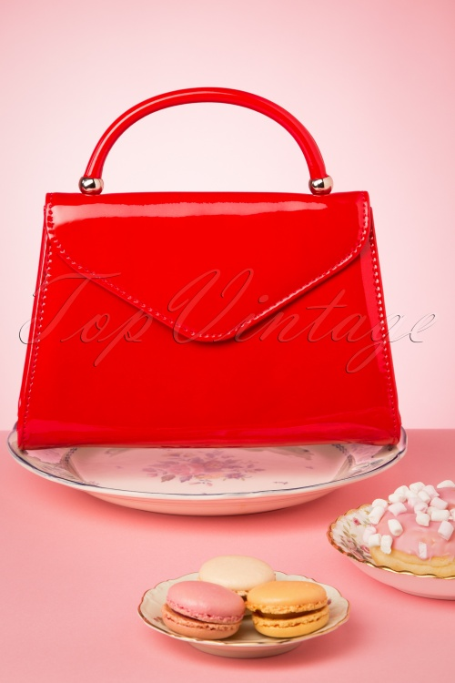 La Parisienne 30610 Bag Red Handbag 20190430 005 W