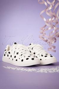 Compania Fantastica 28086Sneaker Dots black white 20190430 004W