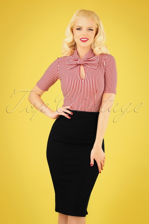 Vintage Chic Pencil Skirt 27591 20180927 040MW