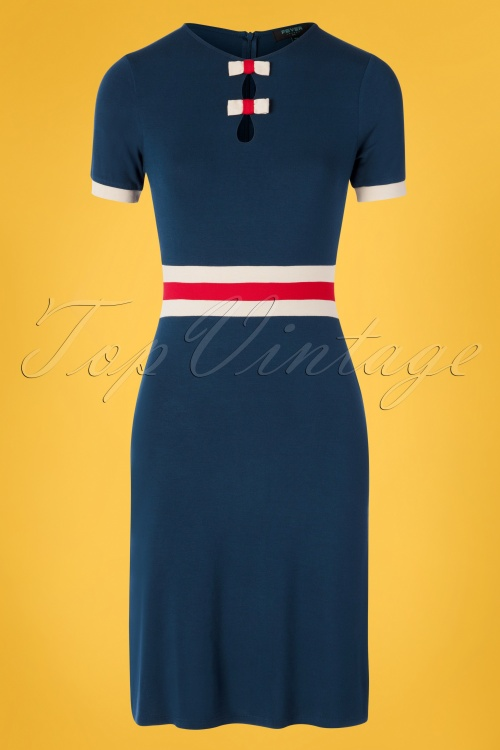 Fever 28713 Pencildress Navyblue Claudia 20190502 0005W