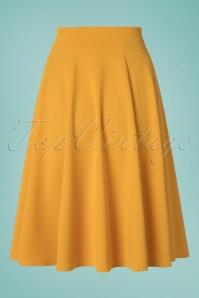 Vintage Chic 30513 Swingskirt Mango Mojito Mustard 20190502 0008W