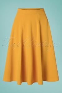 Vintage Chic 30513 Swingskirt Mango Mojito Mustard 20190502 0006W