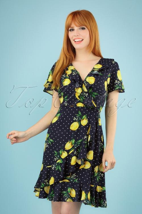Smashed Lemon 27754 Lemon Polkadot Dress 20190208 040MW
