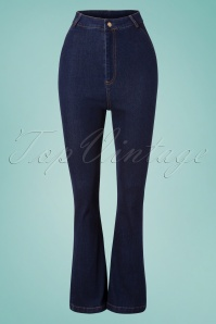 Vixen 28353 70s Debra Denim Jeans 20190320 002W