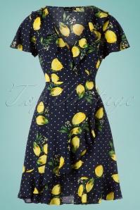 Smashed Lemon 27754 Lemon Polkadot Dress 20190208 001WQ