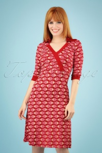 Tante Betsy 26660 Aline Dress Zoe Fish Red Pink 20190411 040MW