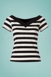 Bunny Caitlin Striped Top 111 14 24064 20180228 0001W