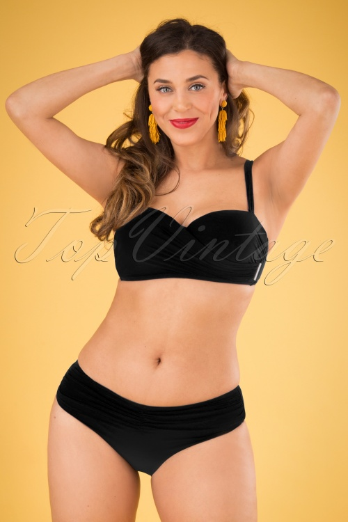 Marc & Andre Paris 30247 50s Aliyah Bikini Brief Black 20190411 002 W