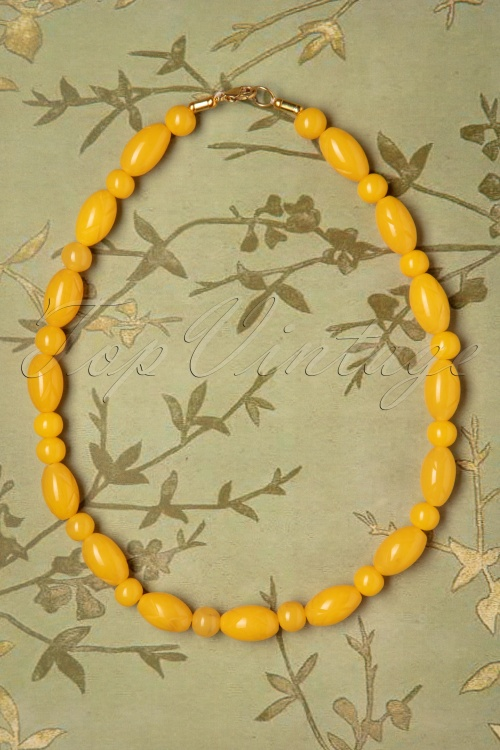 Splendette 30355 Carved Lemon Necklace 20190506 006W