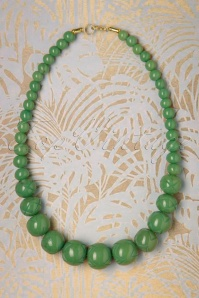 Splendette 30344 Sage Fakelite Carved Necklace 20190506 004W
