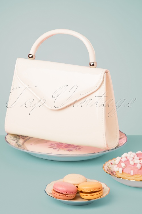 La Parisienne 30607 Bag White Handbag New 20190430 004