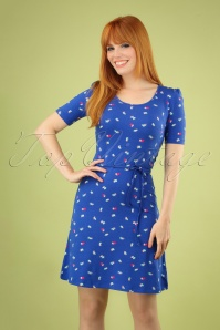 Wow to Go 27040 Britt Paper Dress Blue 20190321 040MW