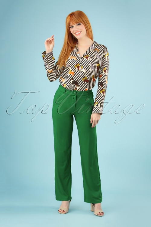 Tante Betsy 26647 Baggy Green Trousers 20190311 040MW