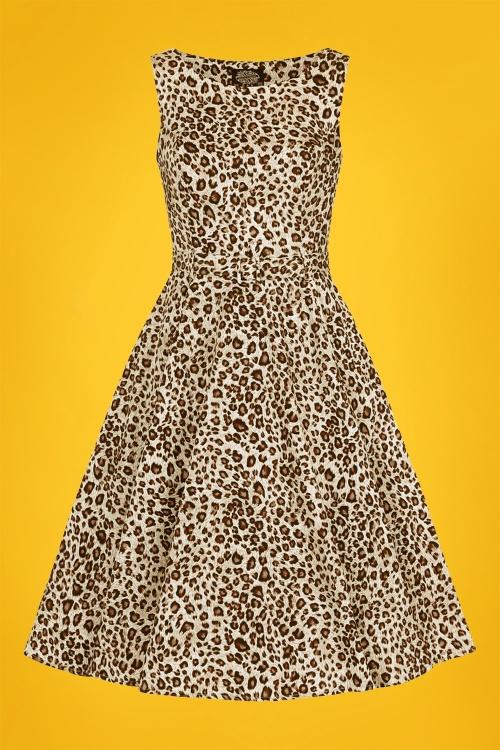 Hearts Roses 30830 Leopard Swing Dress 20190507 021W