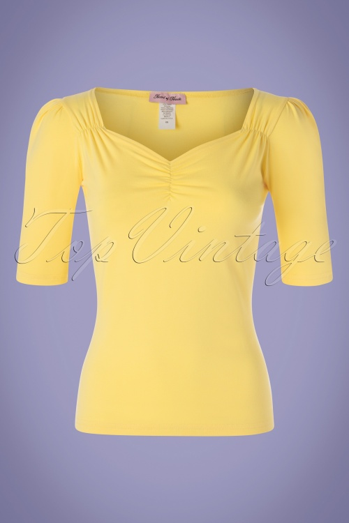 Heart Of Haute 29522 Top Mira Yellow 050819 0002W