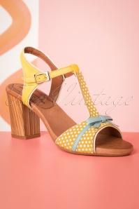 Nemonic 30306 Sandals yellow 20190508 011W