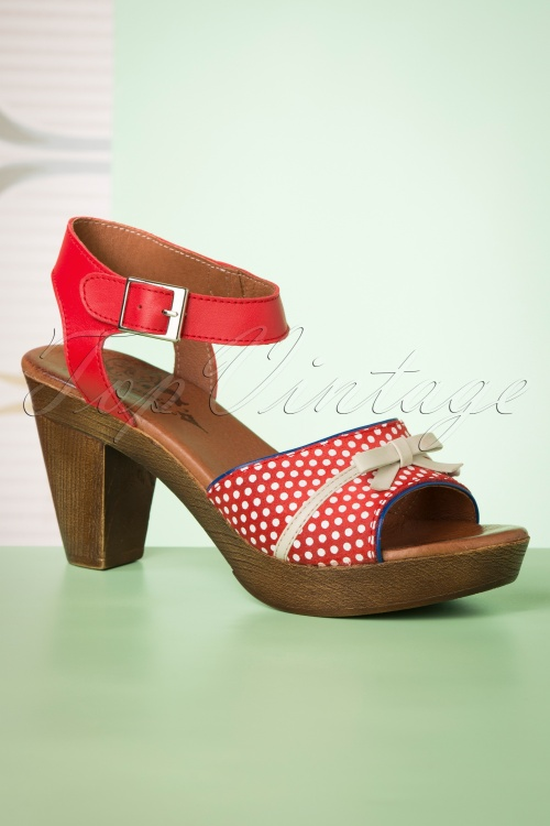 Nemonic 30305 Sandals red 20190507 014W