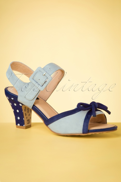 topvintage boutique 28410 Sandals sky blue 20190508 006 W