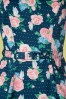 Collectif 28612 Swingdress Floral Roses Hepburn 130519 0005W
