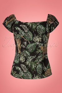 Collectif Clothing 27391 Dolores Jungle Top 20180813 004W