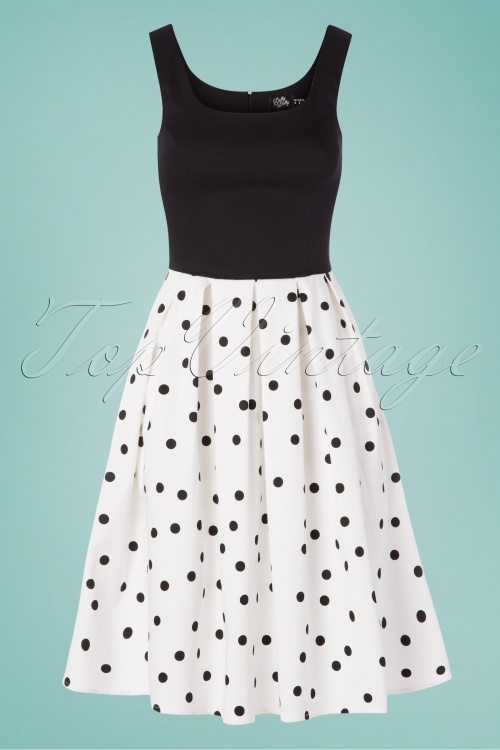 Dolly And Dotty 29149Black White dots 20190515 002w