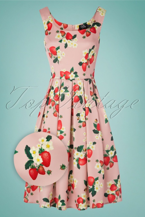Dolly And Dotty 29165Swing Dress Strawberry 20190515 005Zoom
