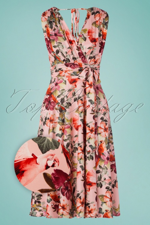 Vintage Chic 30696Flowers Pink 20190517 001z