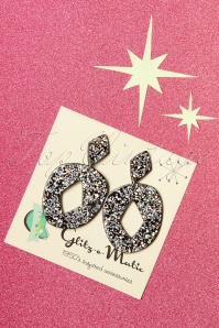 Glitz O Matic 30834 Atomic Glitter Earrings 20190527 003W