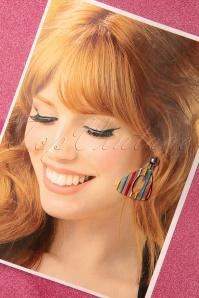 Glitz O Matic 30833 Summer Striped Earrings 20190527 008W