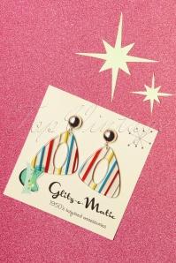 Glitz O Matic 30833 Summer Striped Earrings 20190527 001W