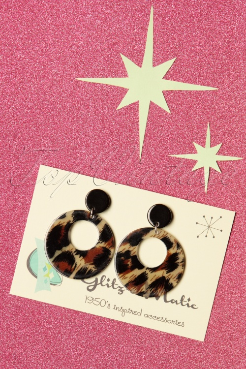 Glitz O Matic 30837 Lovely Leopard Earrings 20190524 005W