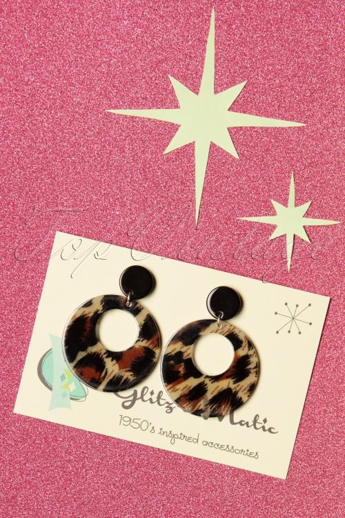 Glitz O Matic 30837 Lovely Leopard Earrings 20190524 005W