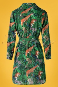 Smashed Lemon 30984 Jungle blouse Dress 20190524 008W