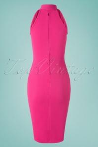 Vintage Chic 30529Penciljurk Pink 20190528 010W