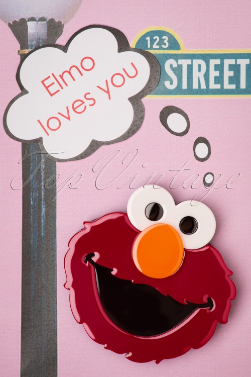Erst Wilder 30992 Elmo Sesame Street Muppet Blue Brown Chocolate Chip 20190529 004