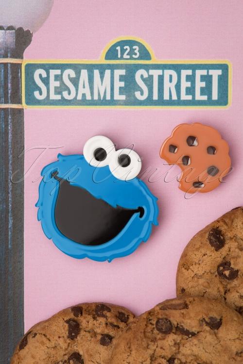Erst Wilder 30991 Cookie Monster Sesame Street Muppet Blue Brown Chocolate Chip 20190529 001