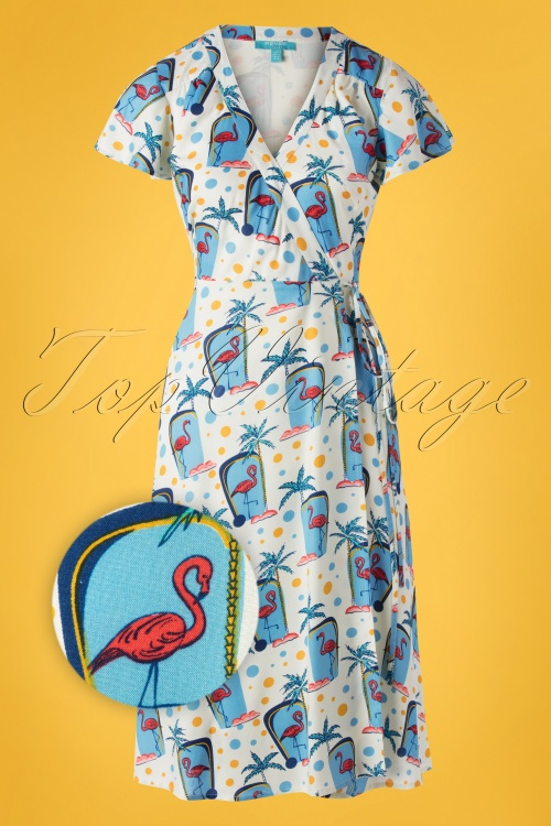 Fever 28714 Swingdress Flamingo Wrap Tropical 20190605 0005Z