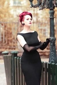 Tatyana 24684 Jazmin Pencil Dress in Black 20190603 023L 04