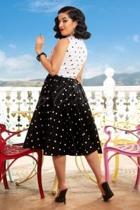 Vintage Diva Esmee Polkadot Dress DSC1082 1W