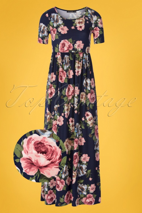 Mikarose 30866 Maxidress Navy Floral Miranda 20190606 0004 vergrootglaasje