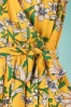 Louche 28163 Playsuit Yellow Floral Short Yello 20190606 0004 D
