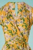 Louche 28163 Playsuit Yellow Floral Short Yello 20190606 0003 V