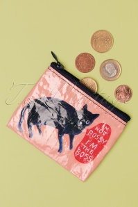 Blue Q I'm Not Bossy Coin Purse Années 50