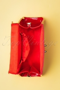 Topvintage Bags 30108Plain Patent Red 20190613 034W