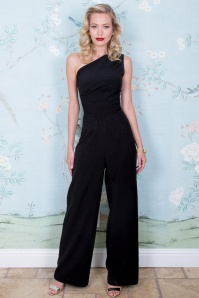 Stop Staring 30172 Ava Jumpsuit in Black 20190614 020L