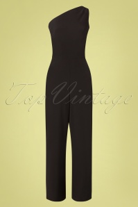 Stop Staring! 30172 Ava Jumpsuit in Black 20190614 004W