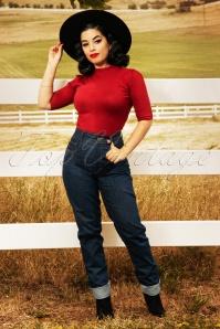 Rockabooty  30969 Cleo Denim Jeans 20190509 0825W